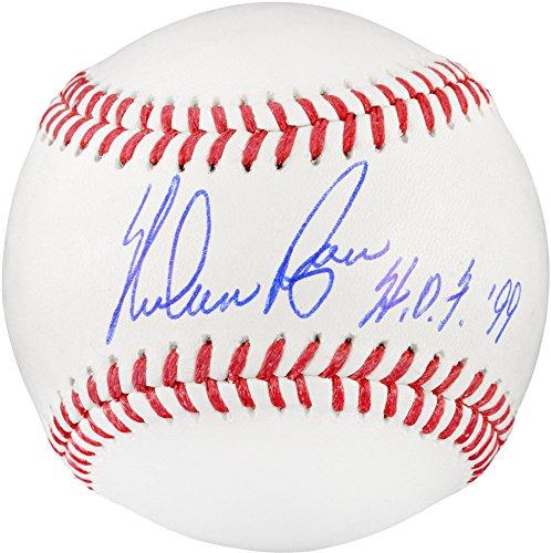 Nolan Ryan Texas Rangers Autographed Baseball with