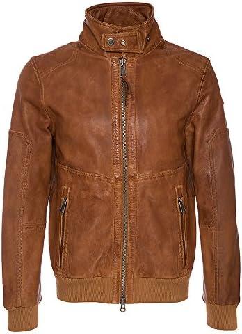 Napapijri alman veste en cuir pour homme