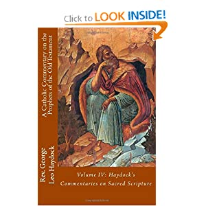 Catholic Commentary on the Prophets of the Old Testament George Haydock and Paul Boer Sr