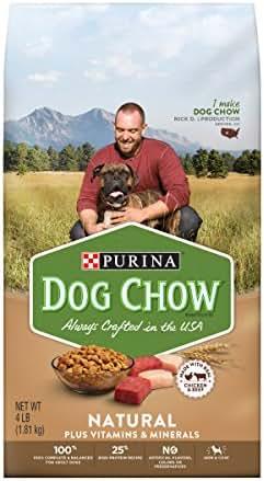 Dog Food: Purina Dog Chow Natural
