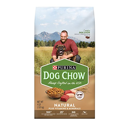 Purina Dog Chow Natural With Real Chicken & Beef Adult Dry Dog Food - 32 lb. Bag