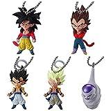Dragon Ball Cho Figure Swing Keychain~UDM The Burst 15~Complete set of 5