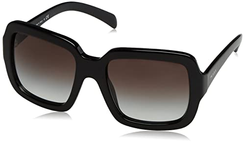 Prada PR07RS, Gafas de Sol Unisex-Adulto, Black, 56
