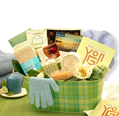 Yoga Gift: A Little Yoga & Green Tea Essentials Gift Set by Organic Stores (Image #2)