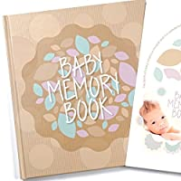 Baby Memory Book And Keepsake For Baby's First Year - A Scrapbook / Photo Alb...