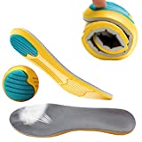 LifeWheel 2 Pairs Memory Cotton Multi Functional Sports Cushioning Shoe Pads,Mens Or Womens Running Shoes Breathable Shock Absorber Insoles