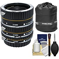 Xit Pro Series AF Macro Extension Tube Set with Pouch +...