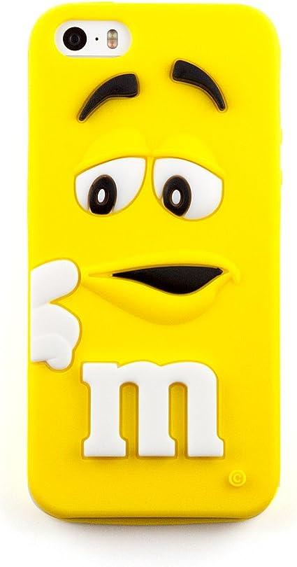 Coque iPhone 5 & 5S M&M's 3D - Jaune: Amazon.fr: High-tech