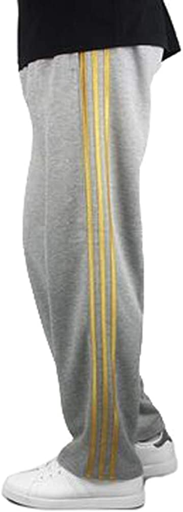 Pantalons De Jogging pour Hommes C/ôT/é Rayures Verticales Version en Vrac Fitness Running Pantalon De Sport D/éContract/é Pantalon DEntra/îNement