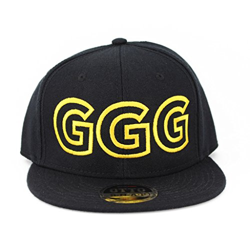 Ggg Golden Flat Six Panel Pro Style Snapback Hat  1958