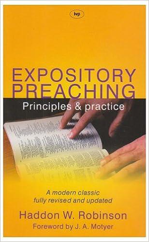 Bøker på engelsk gratis nedlasting Expository Preaching