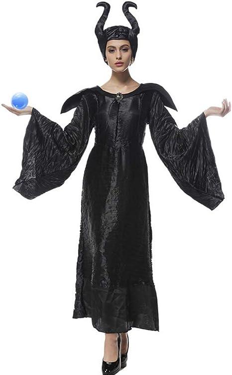 Maléfica Disfraces de Halloween para Mujer Bruja Cosplay Cuento de ...