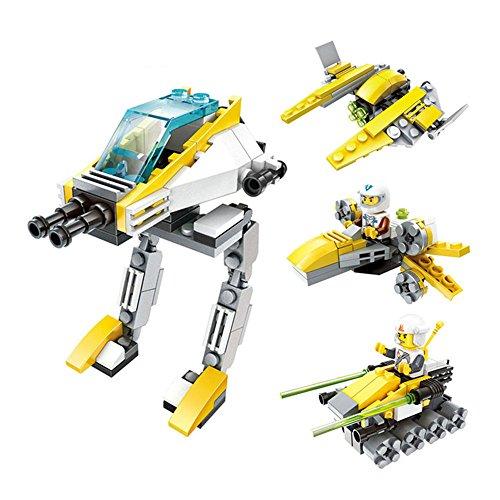4 in 1 Star Military Wars Figure Building Blocks Set Enlight