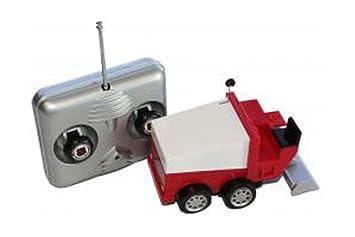 Radio Controlled Nhl Zamboni Ice Resurfacing Machine Red Version