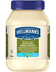 Hellmann's Light with Olive Oil Mayonnaise Type Dressing 890 ML
