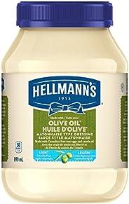 Hellmann's LightwithOliveOil Mayonnaise Type Dressing 89