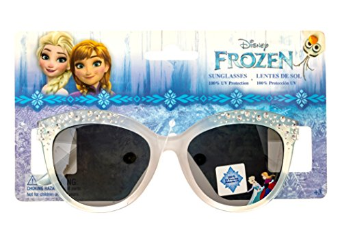 Disney Frozen Elsa and Anna Girl's Sunglasses with Stud and Heart - Disney Sunglass