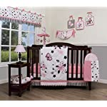 GEENNY-Boutique-Baby-13-Piece-Nursery-Crib-Bedding-Set-New-Pink-Butterfly