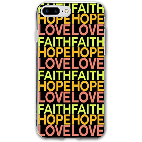 Phone Case Compatible with iPhone 7 Plus iPhone 8 Plus FAITHHOPELOVE-01.png Lightweight Anti-Fingerprint Slim Soft Covers
