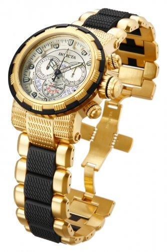 Chronograph Champagne Dial (Invicta Reserve Chronograph Champagne Dial Two-tone Mens Watch 80300)