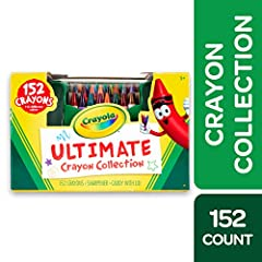 Proudly display your Crayola crayons with the Crayola Ultimate Crayon Collection Coloring Set! This multi-tiered, four-sided Crayola crayon case let's you organize and find crayons easily. As one of the biggest Crayola Crayon boxes we have, t...