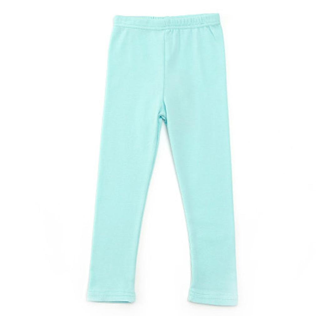 Lookatool Baby Cute Boy Girl Pants Candy Clour Leggings Family Clothes