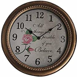 12 INCH INSPIRATIONAL CLOCK