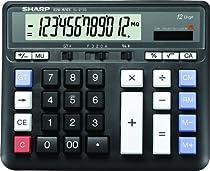 Sharp HO EL2135BK Professional Desktop Calculator
