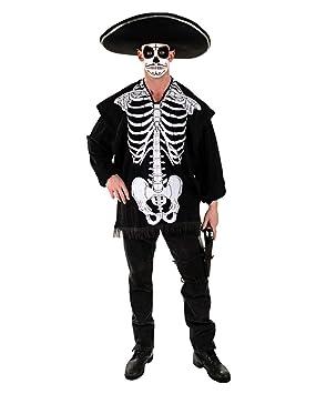Horror-Shop Poncho De Traje Esqueleto: Amazon.es: Juguetes y ...