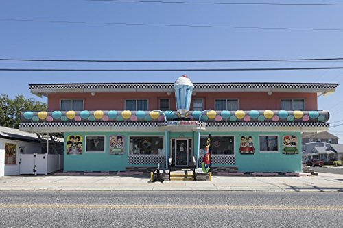 Photograph  Cool Scoops Ice Cream Parlor in Wildwood, New Jersey 3 Fine Art Photo Reproduction 44in x 30in
