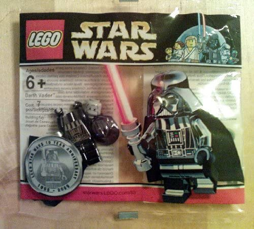 Lego Star Wars 10th Anniversary Limited Edition chrome Darth Vader