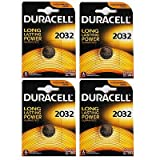 4 x 3V Duracell Coin Cell DL2032/CR/BR2032/CR2032