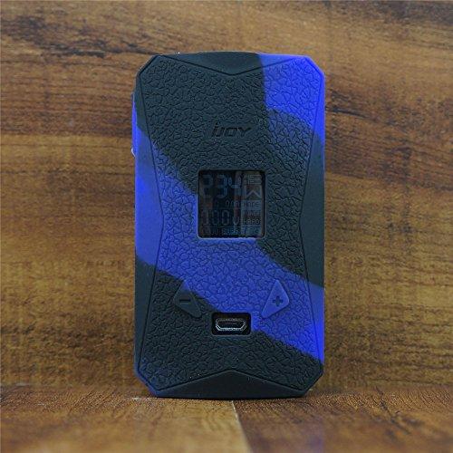 ModShield for iJoy Diamond PD270 234W TC Silicone Case ByJojo Cover Shield Sleeve Skin Wrap (Purple/Black)