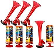 Harilla 4X Pump Air Horn Mini Airhorn Marine Boating Fog Warning Trump Cheering Tools