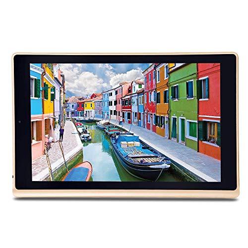iBall Slide Elan 4G2+ Tablet (10.1 inch, 16GB, Wi-Fi + 4G LTE + Voice Calling), Gold-Cobalt Brown