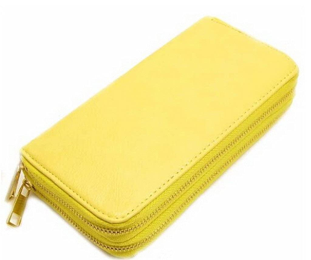 Amazon.com: Thalia Wise omens Wallet Leather Double Zipper ...