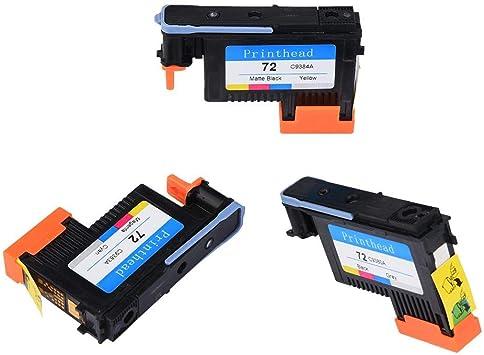 Eboxer Cabezal de Impresión HP Designjet Serie T610 T770 T795 T790 T1100PS T1120 T1200 T1300 T2300 T1100MFP / T1120PS / T1120HD / SD, Sin Papel Atascado(Tres Juntos): Amazon.es: Electrónica
