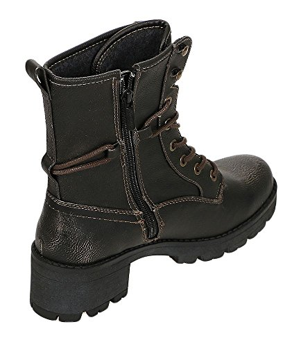 Mustang Bottes 200 Pour 1259601 Femme Gris qAwSY