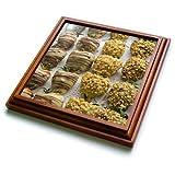 3dRose trv_277970_1 Gourmet Trivet with Tile, 8 by 8''
