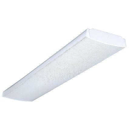 Lithonia Lighting LB4321201/4GESB Wraparound Lens Fluorescent ...