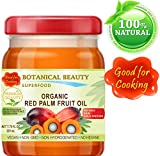 RED PALM FRUIT OIL ORGANIC Brazilian. 100% Pure / REFINED / Undiluted Cold Pressed. SUPER FOOD. 7.75 Fl.oz – 225 ml.