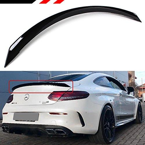Coupe 2 Door Mercedes (Cuztom Tuning FOR 2016-2019 MERCEDES BENZ W205 2 DOOR COUPE C300 C43 C180 C63S EDITION 1 STYLE TRUNK LID SPOILER WING)