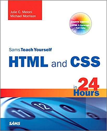 Amazon Com Sams Teach Yourself Html And Css In 24 Hours Includes