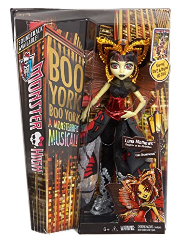 Monster High Boo York, Boo York Gala Ghoulfriends Luna Mothews Doll