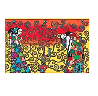 Colorvelvet Ct07 Cartellina Klimt L Albero Della Vita Amazon