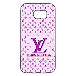 Pink Style Louis Vuitton Logo Design 3D Hard Plastic Case Cover Snap on Samsung Galaxy S6