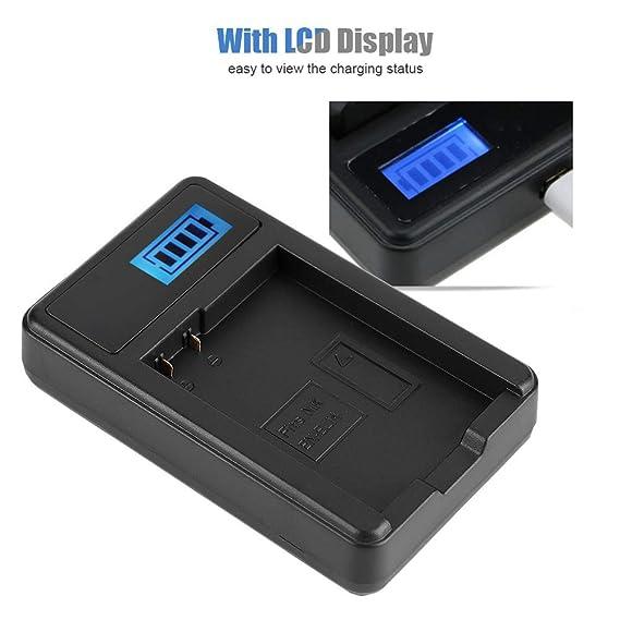 Mugast Cargador USB de batería de cámara EN-EL14, Cargador ...