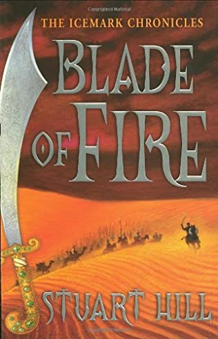book cover of Blade of Fire