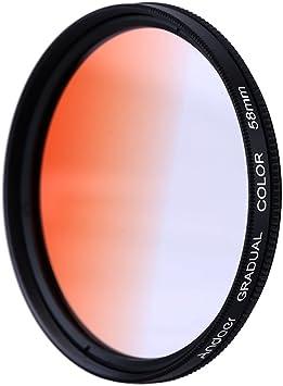 Andoer GND Orange 40,5 mm Filtro Graduado Filtro de Densidad ...