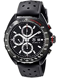 Men's CAZ2011.FT8024 Stainless Steel Watch with Black Rubber Band